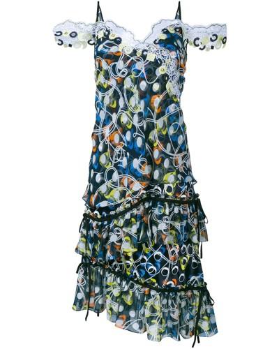 Ärmelloses 'Cord' Kleid
