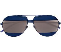 'Diorsplit 1' Sonnenbrille mit verspiegelten