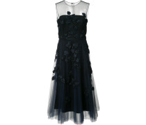 Besticktes Tüllkleid - women - Seide/Polyester