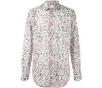 - Hemd mit floralem Print - men - Baumwolle - 15