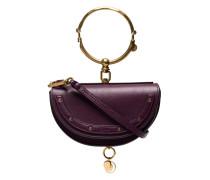 Purple Nile Minaudiere bracelet bag