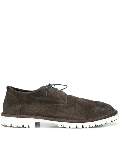 Oxford-Schuhe in Distressed-Optik