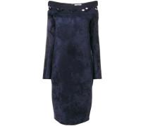 off shoulder fitted dress