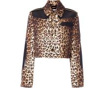 Jacke mit Leopardenmuster