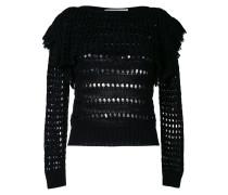 open weave jumper - women - Baumwolle - 36