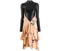 Hybrid-Kleid mit Volants