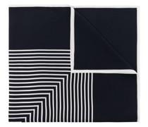 Seidenschal mit Monogramm-Print