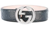 'Signature GG' Ledergürtel