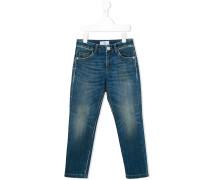 Ausgewaschene Skinny-Jeans - kids