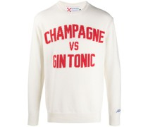 'Champagne & Gin Tonic' Pullover