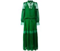 Seidenkleid mit Spitze - women - Seide/Polyamid