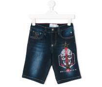 Jeans mit Totenkopf