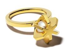 18kt 'Stellar' Gelbgoldring