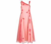 Kleid mit applizierten Tüllblumen
