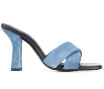 Retox block heel sandals
