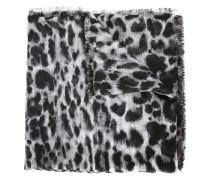 Schal mit LeopardenPrint