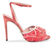 Sandalen mit Tüll