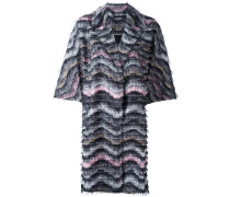 'Floretta' Mantel - women - Polyester/Elastan