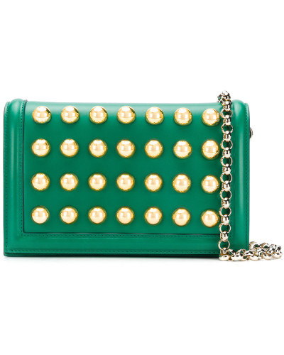 Elie Saab Damen dome stud shoulder bag