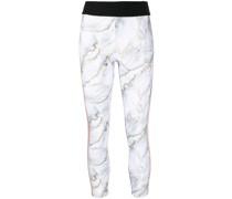 Leggings mit marmoriertem Effekt
