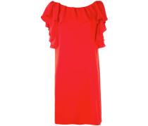 - Shiftkleid mit Volants - women - Polyester - XS
