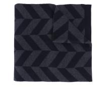'Herrigs' Schal mit Chevron-Muster