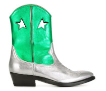 'Lila' Stiefel im Metallic-Look - women