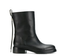 back zip boots