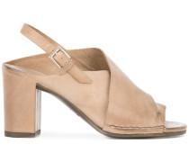 - Slingback-Sandalen mit Blockabsatz - women