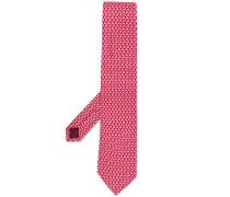 Krawatte mit Hunde-Print