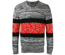 Pullover mit Kontraststreifen - men - Baumwolle