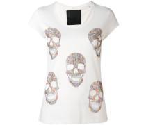 'Skulled' T-Shirt - women - Baumwolle - L
