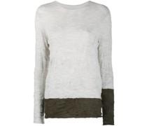 Pullover mit ausgeblichenem Print