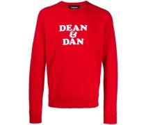 "Sweatshirt mit ""Dean & Dan""-Print"