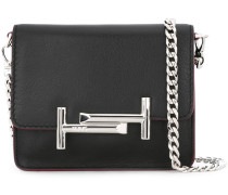 logo plaque crossbody bag