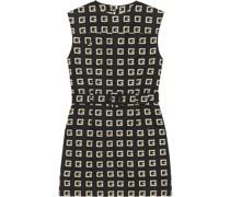 Kleid mit Monogramm-Print