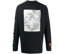 "Sweatshirt mit ""Heron""-Print"