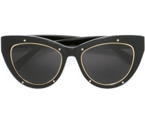 Cat-Eye-Sonnenbrille - women - Acetat