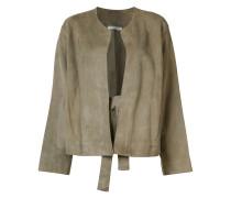 Klassische Jacke - women - Seide/Lammleder - S