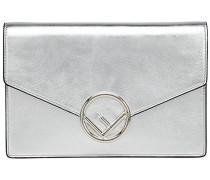 logo flap chain purse