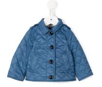 Gesteppte Jacke - kids - Baumwolle/Polyester