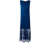 Kleid mit Spitzensaum - women