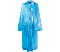 Mantel im Wet-Look