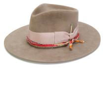 bow strap fedora hat
