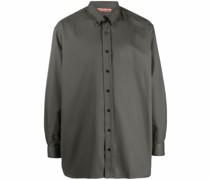 Langärmeliges Oversized-Hemd