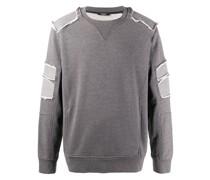 Sweatshirt in Distressed-Optik