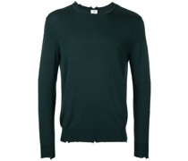 Wollpullover mit Distressed-Optik