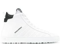 Perforierte High-Top-Sneakers