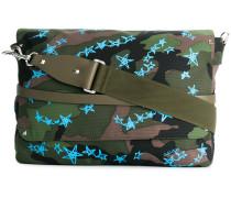 Garavani camouflage Zandra Stars Rockstud messenger bag