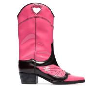 Zweifarbige Cowboy-Boots